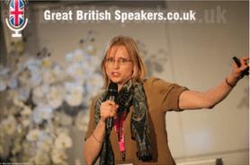 Inge Woudstra Great British Speakers