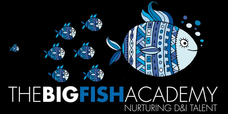 The Big Fish Academy logo - Nurturing Diversity and Inclusion Talent