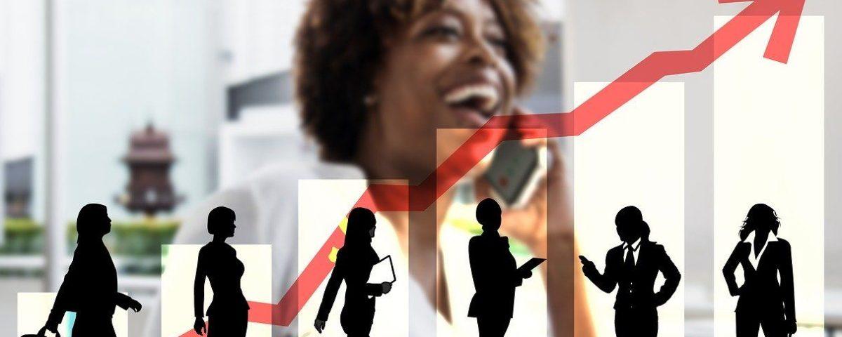 fewer women at senior levels